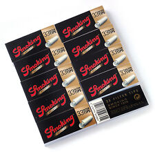 Smoking de Luxe Wide Filter tips - 10 booklets x 33 tips = 330 filter tips