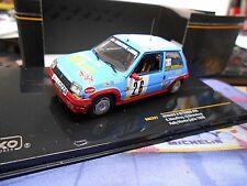 RENAULT 5 Turbo GT Rallye #26 Mauffrey 1988 Monte Carlo Vetir 1988 IXO RAR 1:43