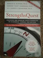 "StrengthsQuest by Edward ""Chip"" Anderson and Donald O. Clifton (2016,"