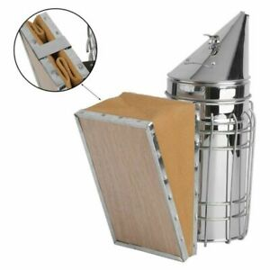 Edelstahl Smoker Imkerei Imker Bienen bee Beekeeping Imkereibedarf Equipment XY.