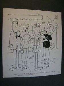 Original  Artist D.H. Dirksen Cartoon art Drawing