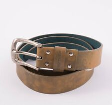 "DIESEL ""BIROCCO"" GENUINE LEATHER BELT – SIZE 90/36 Length 41"" / 104 CM RRP 90 €"