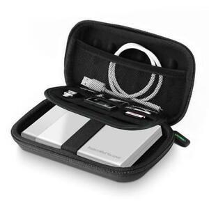 """Shockproof Waterproof 2.5"""" Hard Drive Storage Case HDD SSD PowerBank Premium Bag"""