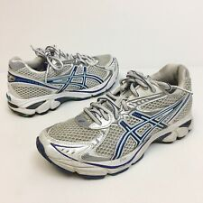 Asics GT 2160 Running Shoes Women's Sz 5.5 Eu36 Silver Blue Athletic Running (10