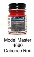 Model Master 4880 F414128 Caboose Red Acrylic 1/2 oz Paint Bottle