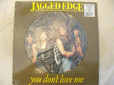 """JAGGED EDGE YOU DON'T LOVE ME 12"""" PICTURE DISC ex++"""