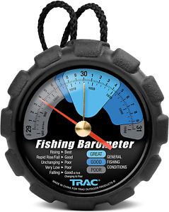 Trac Outdoors Fishing Barometer Track Pressure Trends For Fishing Success Easy