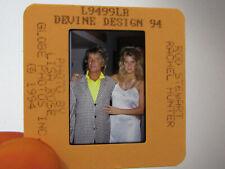 More details for original press photo slide negative - rod stewart & rachel hunter - 1994
