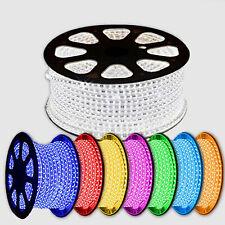 LED RGB Lichterkette Licht Strip Band Lichtschlauch Lichtstreifen 1M 5M 10M 25M