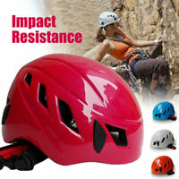 Safety Rescue Helmet Rock Hat Cap Climbing Downhill Caving Rappelling Protector