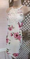 🌹YOINS🌹SPRING FLORAL PRINT COCKTAIL DRESS WEDDING CRUISE HOLIDAY BNWT FEMME L