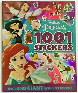 Girls DISNEY PRINCESS 1001 stickers & Colour Activity book Paperback Autumn New
