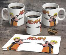 TASSE Mug  NARUTO  Personnalisé  avec le prénom de votre choix
