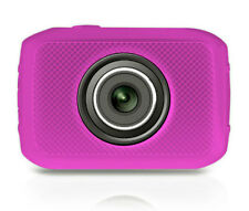 """NEW Pyle PSCHD30PN Sport 5.0 MP Camera w/ 720 p Camcorder 2"""" Touch Screen Pink"""
