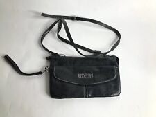 Kenneth Cole Reaction Small Wallet Sized Black Crossbody Purse