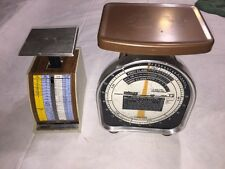 PELOUZE POSTAL SCALES MODEL Y5 And Y2 Feb. 1991 Rates Free Shipping!