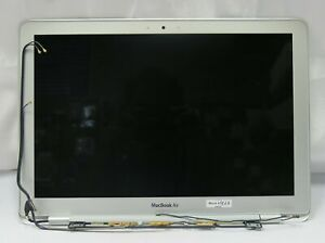 """Apple Macbook Air A1304 13"""" Late 2008 Gray LCD Screen Complete Assembly EMC-2253"""
