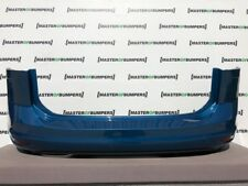 VW TOURAN 2015-2018 REAR BUMPER IN BLUE WITHOUT PDC GENUINE [V605]