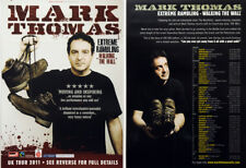 MARK THOMAS EXTREME RAMBLING WALKING THE WALL FLYER X 2 - COMEDIAN  COMEDY