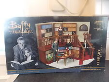 BUFFY THE VAMPIRE LIBRARY PLAYSET BOXED