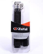 Zefal Z Cross XL Bicycle Pump, Presta/Schrader 116 PSI