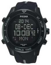 Relojes de pulsera digitales Pulsar cronógrafo
