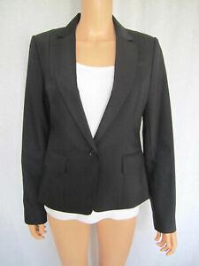 Ann Taylor Women's Jacket Blazer Size 4 Black NEW WITH TAG