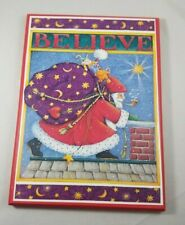 Mary Engelbreit Colorplak Collection Believe Santa Christmas