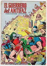 EL GUERRERO DEL ANTIFAZ (Reedición color) nº: 175.  Valenciana, 1972-1978.