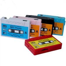 MP3 Player KASSETTE Mini Musik Micro SD bis 16 GB + Zubehörpaket (pink)