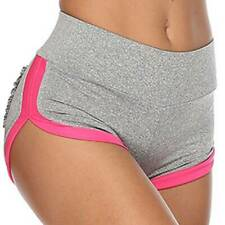 Womens Fitness Gym Shorts Ladies Stretch Sports Training Workout Running Pants