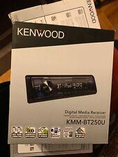 Kenwood Car Stereo Radio Digital Media Receiver Bluetooth Sirius XM Ready Single
