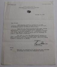 SPARTACUS * Original 1960 Invitation FOR COCKTAILS with Kirk Douglas *