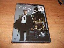 (2) Quantum of Solace (DVD 2009 WS) + Casino Royale (DVD 2007 2-Disc Set FF) NEW