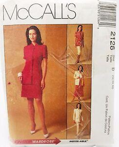 Womens Jacket Pants Skirt Office Church Wedding Size 12 14 16 Pattern 2126 New