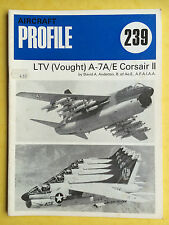 AIRCRAFT Profile Publications No.239 - LTV (Vought) A-7A/E Corsair II