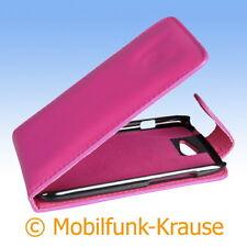 Flip Case Etui Handytasche Tasche hülle F. HTC One s (pink)