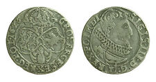 pci0650) POLONIA - DANZICA - Sigismondo III (1587-1632) - 6 Grossi 1626 - AG NC