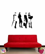 Wall Stickers Vinyl Decal Girl Woman Fashion Models Females Cool Decor (z1582)