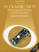 Guest Spot 20 CLASSIC HITS for Clarinet Music Book Play