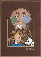 Hergé Tintin – « L'oeuvre intégrale d'Hergé » – intégrale Rombaldi tome 9