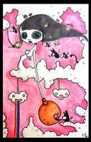 GUS FINK Art folk ORIGINAL pop EMI BOZ lowbrow outsider modern THE SWEET BAIT