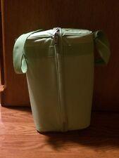 NEW - WINE CADDY PICNIC CARRIER HOLDER ZIPPED SHOULDER BAG FOR BOTTLE 2 GLASSES
