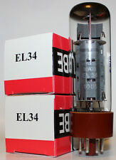 Matched Pair of Svetlana EL34 amp tubes, NEW !!!