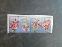 1996 GRENADA GRENADINES STRIP 4 ORCHIDS MINT STAMPS MNH