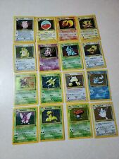 Complete Pokemon Jungle Set Entire Collection Unlimited All 64(Played Condition)