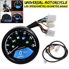 52mm 12000RPM Universale LCD Digitale Moto Contachilometri Tachimetro Contagiri