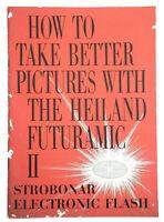 Vintage HONEYWELL Photo Heiland Futuramic II Strobonar Electronic Flash Manual