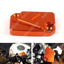 CNC Front Brake Master Bremsbehälter Deckel für KTM 125 200 390 Duke Orange