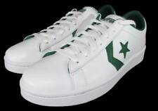 Converse All Star Pro Leather Ox Low Oxford Sneaker Chevron WHITE GREEN 136762C